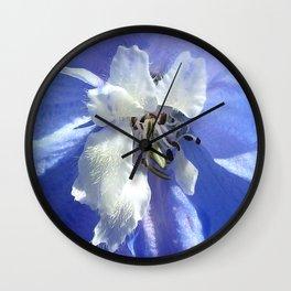 "Larkspur ""Summer Blues"" Wall Clock"