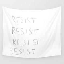 RESIST Wall Tapestry