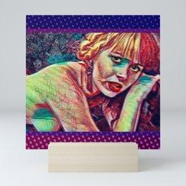 Morte Di Tachygraphy Mini Art Print