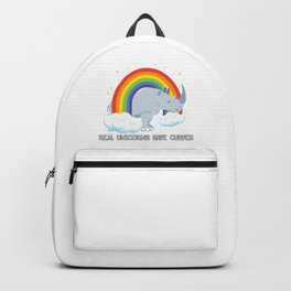 Real Unicorns Have Curves Backpack