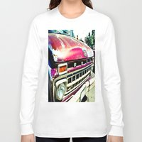 ford Long Sleeve T-shirts featuring Ford Tough by Kim Ramage