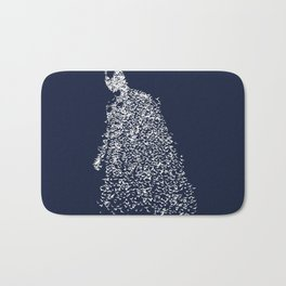 bat man Bath Mat