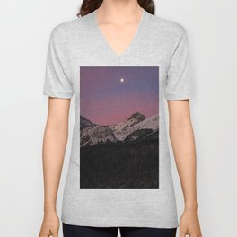 Dreamy Sunrise Unisex V-Neck
