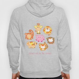 Silly Safari - Stand Out In The Crowd - vertical Hoody