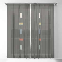 isolation Sheer Curtain