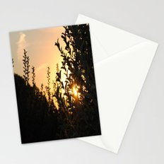Apple Orchard at Sunset Stationery Cards