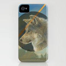 Man to Wolf Slim Case iPhone (4, 4s)