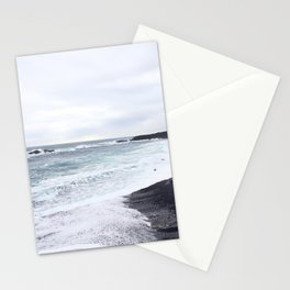 black beaches Stationery Cards
