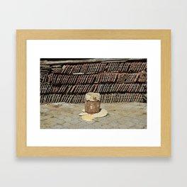 Dough, though... Framed Art Print