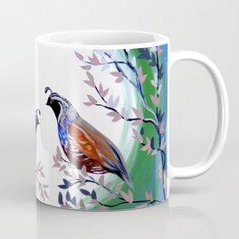 Quails and Serenity Coffee Mug
