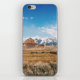 The Grand Tetons iPhone Skin