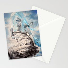 Satin Mermaid Stationery Cards