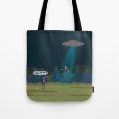 The X-Files Tote Bag