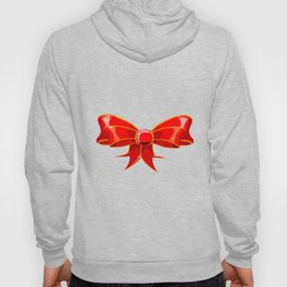 Isolated Red Ribbon Hoody