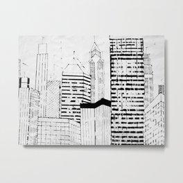 skylines Metal Print