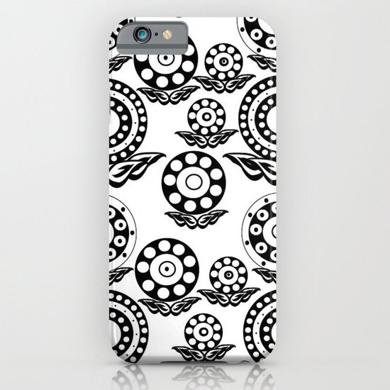 Circular Flower iPhone & iPod Case