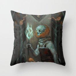 Jack 'o Lantern  Throw Pillow