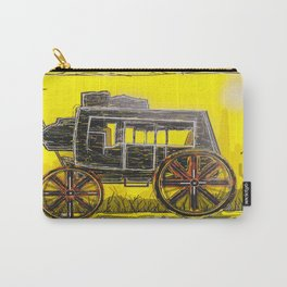 Old West Stagecoach Carry-All Pouch