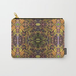 Fall Cat Pattern Carry-All Pouch