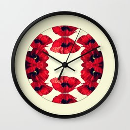 Poppy World Wall Clock