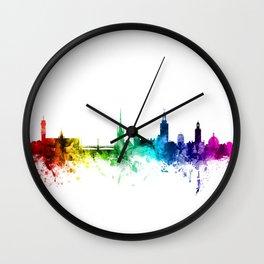 Stockholm Sweden Skyline Wall Clock