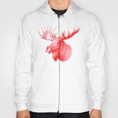 Moose red Hoody