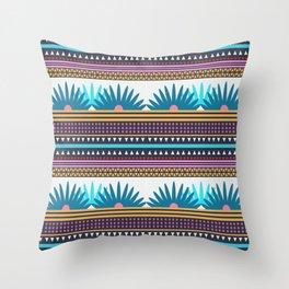 Multi Geometric Love Throw Pillow