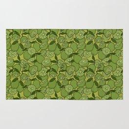 Lime Greenery Rug
