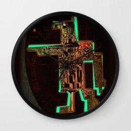 Spatial Robotic City Lab Wall Clock