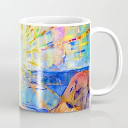 Edvard Munch The Sun Coffee Mug