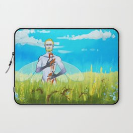 Dead Once Upon A Time Laptop Sleeve