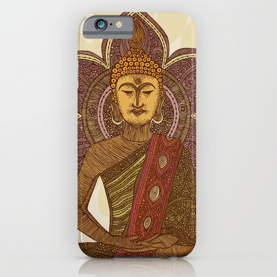 Sitting Buddha iPhone & iPod Case