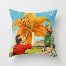 Sustainable Life Throw Pillow