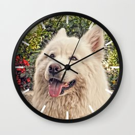 Angel In Disguise Wall Clock