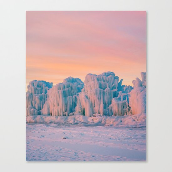 Ice Castles Canvas Print