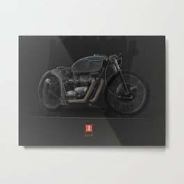 Triumph Bobber Metal Print