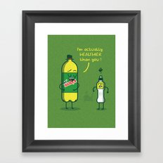 M'Soda Framed Art Print