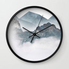 When Winter Comes III Wall Clock