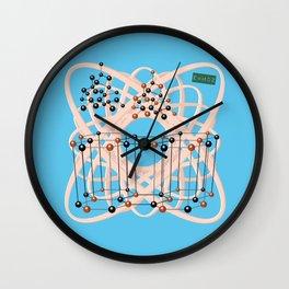 Retro molecular bonding with Mister Einstein Wall Clock