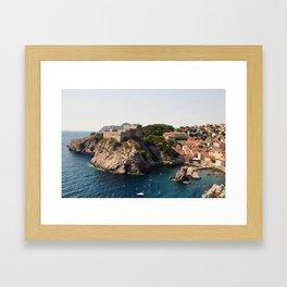 Dubrovnik, Croatia Framed Art Print