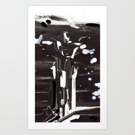 Smudge Angel Art Print