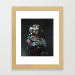 Stay Close to Me Framed Art Print