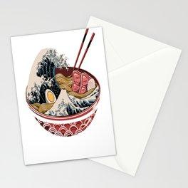 Great Ramen Wave Stationery Cards