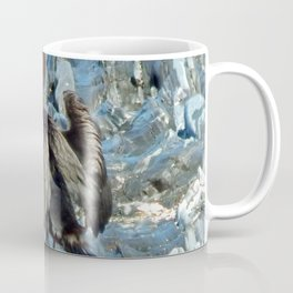 Double-Breasted Cormorant Dries Off Coffee Mug
