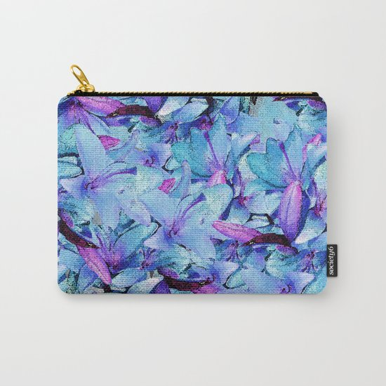 LILY BOUNTIFUL BLUE Carry-All Pouch