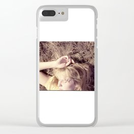 chroopki fields forever Clear iPhone Case