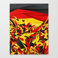 germany Canvas Prints featuring Germany by Danny Ivan