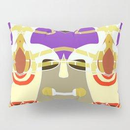 Golden purple pattern Pillow Sham