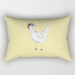 Spring Chicken Rectangular Pillow