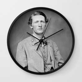 Colonel John S. Mosby - The Gray Ghost Wall Clock